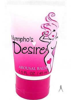 Nymphos Desire Arousal Balm 1.5 Ounce