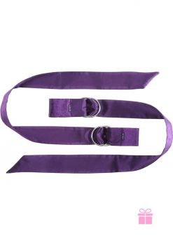 Boa Pleasure Ties Purple