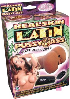 Realskin Latin Pussy and Ass
