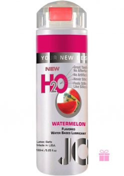 Jo H2O Flavored Water Based Lubricant Watermelon 5.25 Ounce