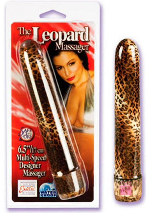 THE LEOPARD MASSAGER 6.5 INCH LEOPARD