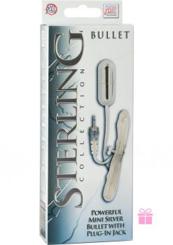 Sterling Collection Mini Silver Bullet With Plug In Jack