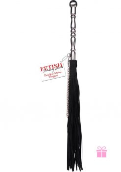Fetish Fantasies Beaded Metal Flogger