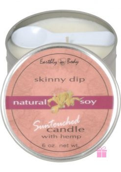 Skinny Dip Massage Candle with Hemp and Soy