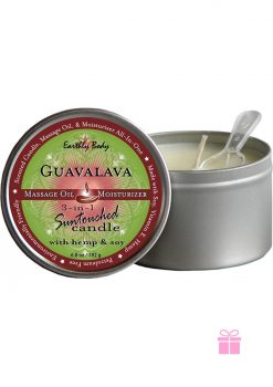 Guavalava Round Candle 6.8oz