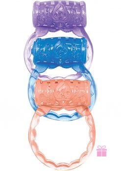 The Macho Three Ring Set Assorted Color