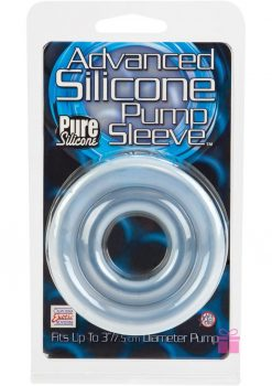 Advanced Silicone Pump Sleeve Clear
