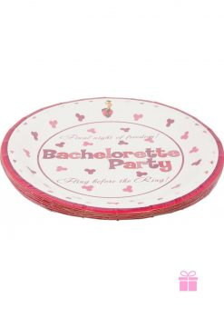 Bachelorette Party 10 Plate 10 Pack
