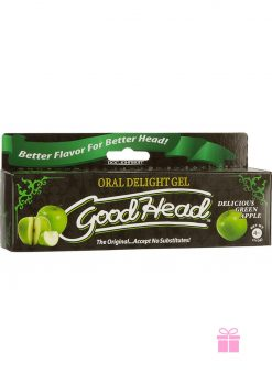 Goodhead Oral Delight Gel Green Apple 4 Ounce