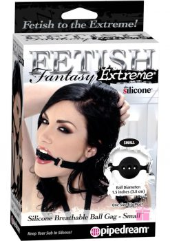 Fetish Fantasy Extreme Silicone Breathable Ball Gag Small