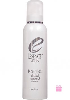 Essence Indulge All Natural Massage Oil Chamomile 4 Ounce