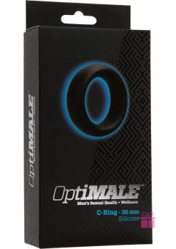 Optimale Silicone C-Ring Black 35 Millimeter