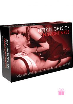Fifty Nights Of Naughtiness Couples Card Game