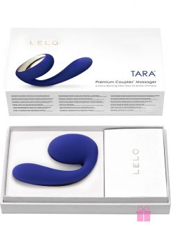Tara Premium Silicone Couples' Massager Waterproof Midnight Blue