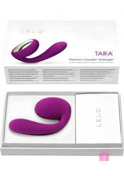 Tara Premium Silicone Couples' Massager Waterproof Deep Rose