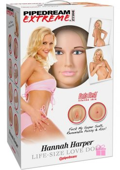 Pipedream Extreme Dollz Hanna Harper Life Size Blow Up Love Doll Flesh