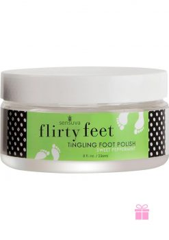 Flirty Feet Foot Polish Peppermint