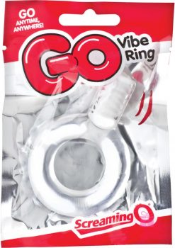 Go Vibe Ring Pop Clear
