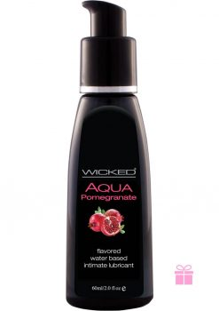 Wicked Waterbased Pomegranate Lube 2oz