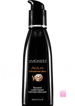 Wicked Aqua Cinnamon Bun Lube 2oz