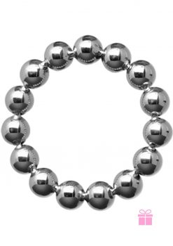 Master Series Meridian Steel Beaded Cockring 2 Inch