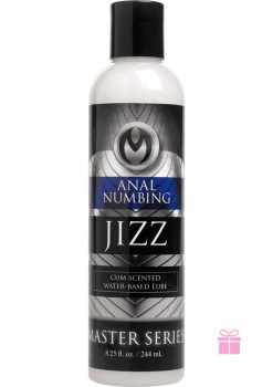 Master Series Jizz Cum Scented Numbing Lube 8.5oz.