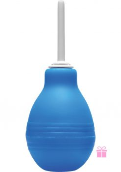Clean Stream Enema Bulb Blue 8 Oz