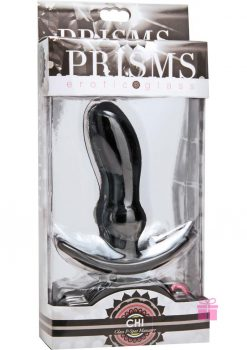Prisms Chi Glass P-spot Massager Green 4.5 Inch
