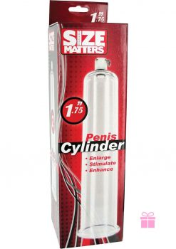 Size Matters Penis Cylinder Clear 1.75 Inch