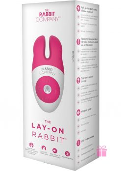 The Rabbit Company Lay On Silicone Rabbit Pink