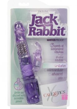 Calexotics Petite Jack Rabbit Waterproof Purple