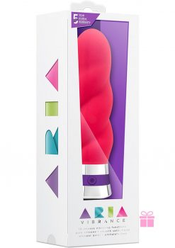 Aria Vibrance Silicone Vibe Waterproof Pink