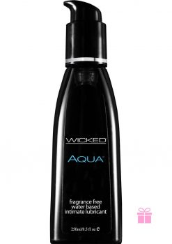 Wicked Aqua Unscented Lube 8.5oz