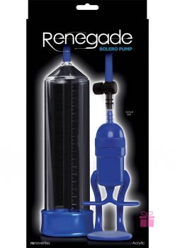 Renegade Bolero Pump Blue