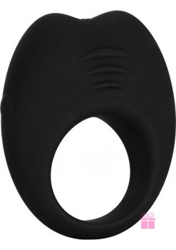 Colt Silicone Recharge Cock Ring Black