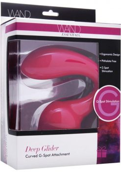 Wand Essentials Deep Glider Curved G Spot Wand Attachment