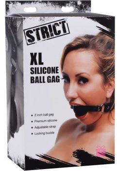 Strict XL Silicone Ball Gag