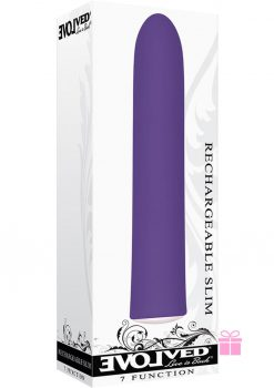 Rechargeable Slim Purple
