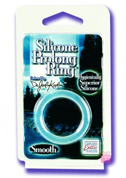 DR JOEL KAPLAN SILICONE PROLONG RING SMOOTH CLEAR