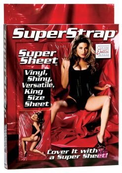 Super Strap Super Sheet King Size Red