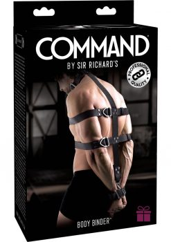 Sir Richard's Command Body Binder Kit Black And Stainless Steel