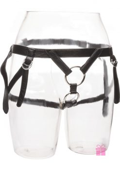 Her Royal Harness The Dutchess Strap-On Harness Black