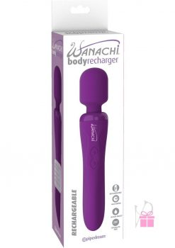Wanachi Silicone Body Recharger Purple