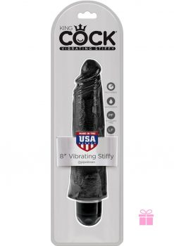 King Cock Vibrating Stiffy Black