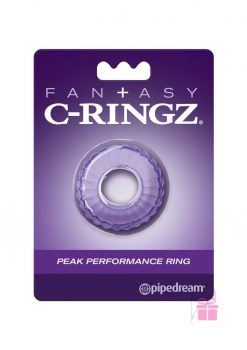 Fantasy C Ringz Peak Thick Performance Ring Purple 1.58 Inch Diameter