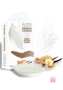 Fuzu Massage Candle Warm Vanilla 4 Ounce
