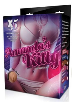 X5 Men Amanda's Kitty Realistic Pussy And Ass Beige