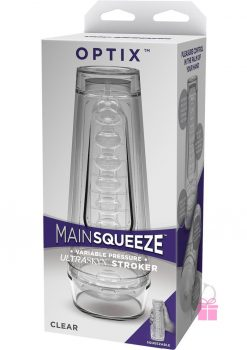 Main Squeeze Optix Ultraskyn Stroker Clear 7.5 Inch