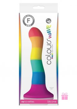 Colours Pride Edition 6 Inch Wave Dildo