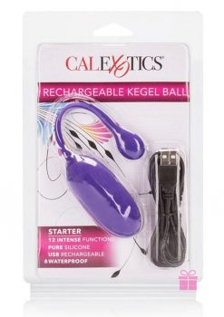 Rechargeable Kegel Ball Starter Purple